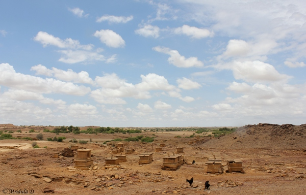 Unmarked Burial Sites, Jaisalmer, Rajasthan