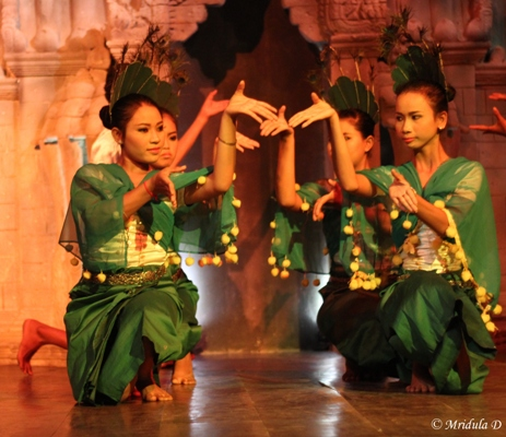 A Colorful Local Dance, Siem Reap, Cambodia