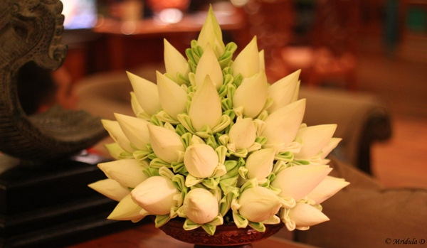 A Floral Arrangement at Sokha Angkor Resort, Siem Reap, Cambodia