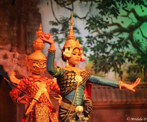 Another Picture from the Ramayana in Cambodia