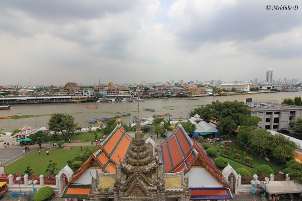 Chao Phraya River and Bangkok City