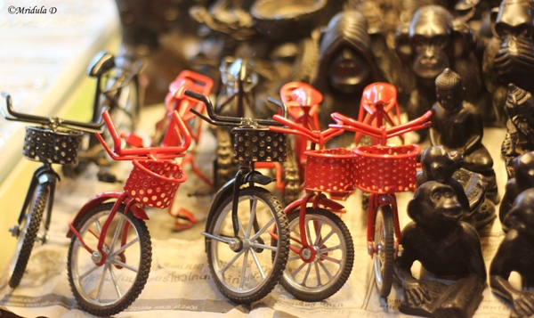 Cycles as Souvenirs, Night Market, Siem Reap, Cambodia