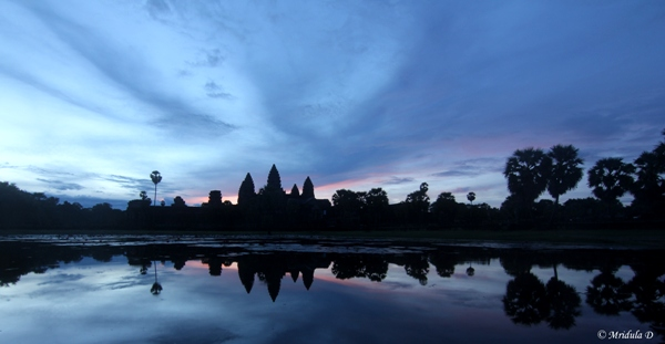 Dawn at Angkor Wat, Siem Reap, Cambodia