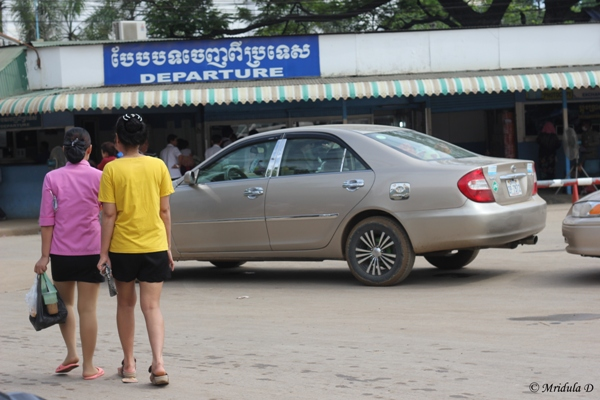 Girls in Shorts, Thailand Cambodia Border