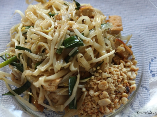 Noodles as a Starter at Dong Krathong Yam , Thailand