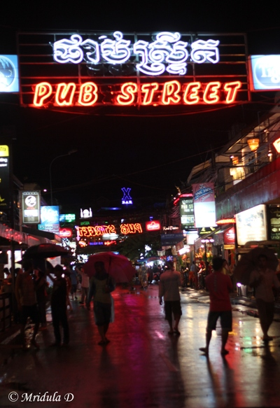 The Pub Street, Siem Reap, Cambodia