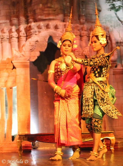 Sita and Her Friend, Ramayana at Cambodia