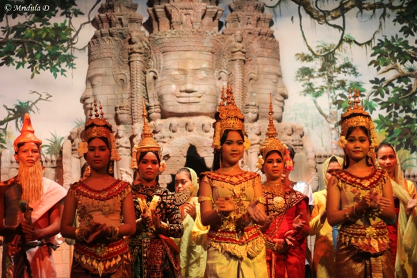 The Entire Cast After the Show, Siem Reap, Cambodia