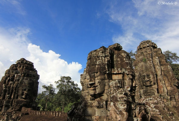 The Smiling Faces of Bayon, Siem Reap, Cambodia