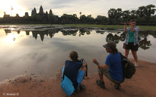 Time for a Photo, Angkor Wat, Cambodia