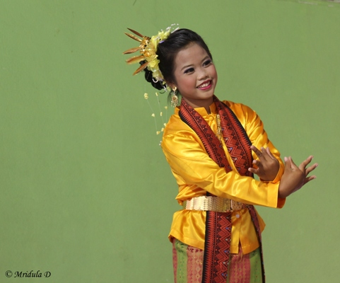 A Young Dancer from Ban Dong, Thailand