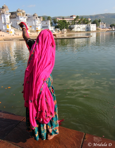 The Pink from Rajasthan, Pushkar Lake, Rajasthan