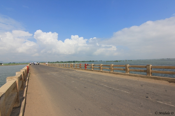 Bridge over Bansagar Catchment Area