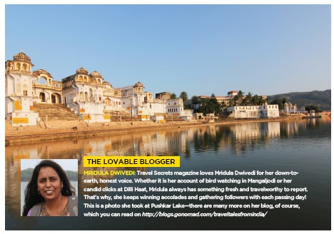 Featured in Travel Secrets Magazine