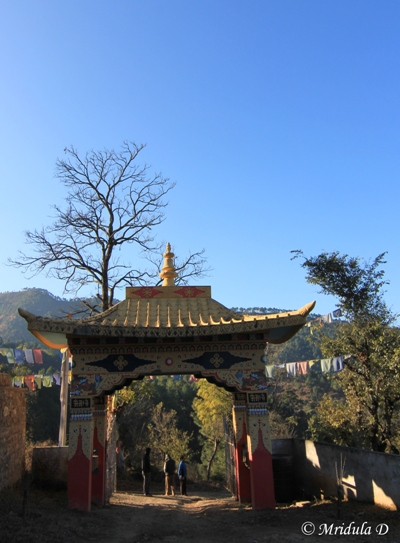 The Entrance to the Jangchub Rabtanling Monastery