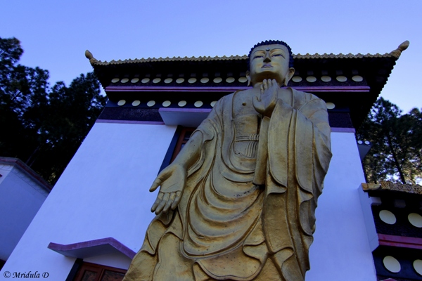 A Giant-Buddha at the Monastery