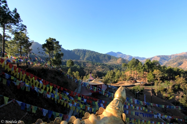 The View from Jangchub Rabtanling Monastery