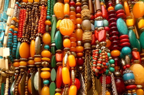 Necklaces at Dilli Haat