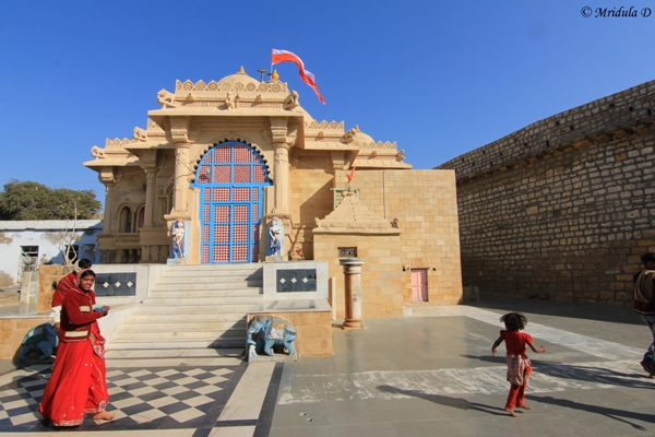 The Temple at Narayan Sarovar, Kutch, Gujarat