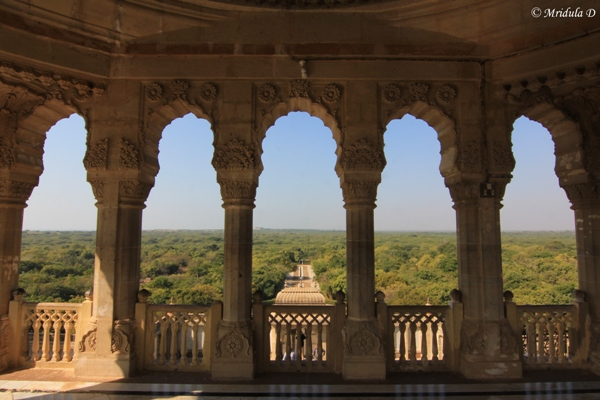 Vijay Vilas Palace- The View