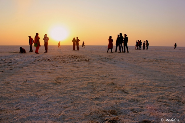 Susnet at the Great Rann of Kutch