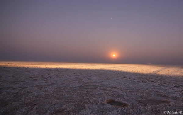 Moon Rise at the Great Rann of Kutch