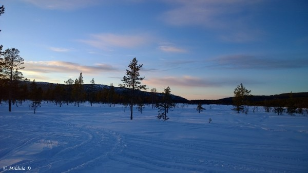 Levi, a Beautiful Town in Lapland, Finland