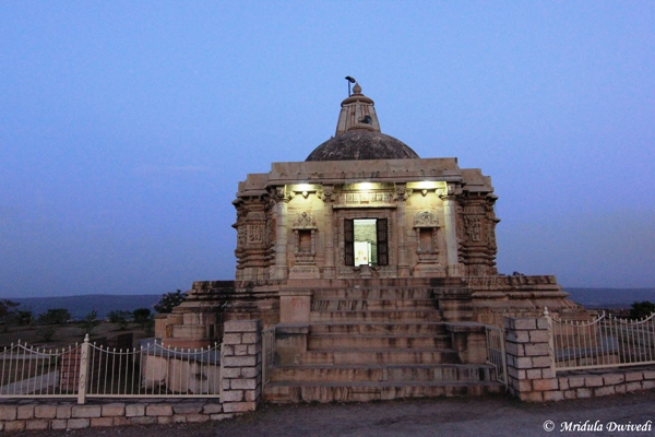 A Temple at Chittorgarh Fort