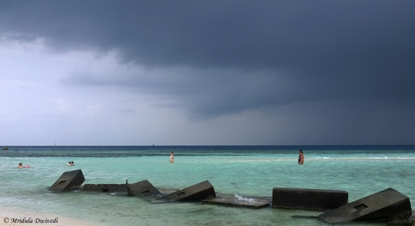 The Beach at Maafushi Island, Maldives