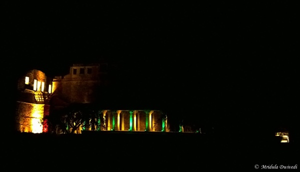 The Light and Sound Show at Chittorgarh, Rajasthan