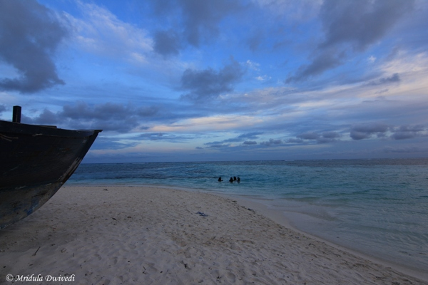 Gorgeous Evening Sky at Maafushi, Maldives