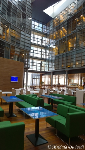 A Cafe at Nokia House, Helsinki