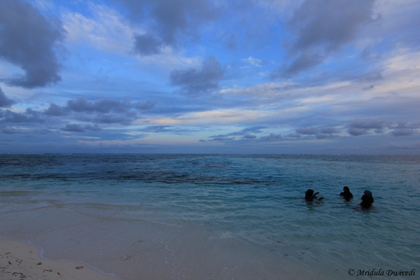 Local Women at the Beach, Maafushi