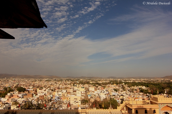 Udaipur City as Seen from City Palace