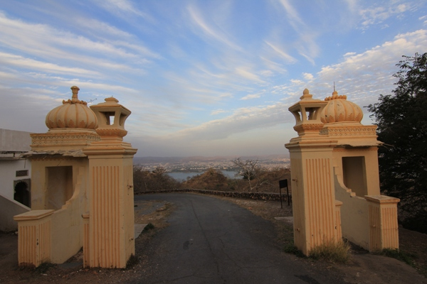 Gates to Monsoon Palace, Udaipur