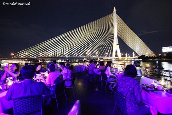 Dinner Cruise, Chao Phraya River, Bangkok
