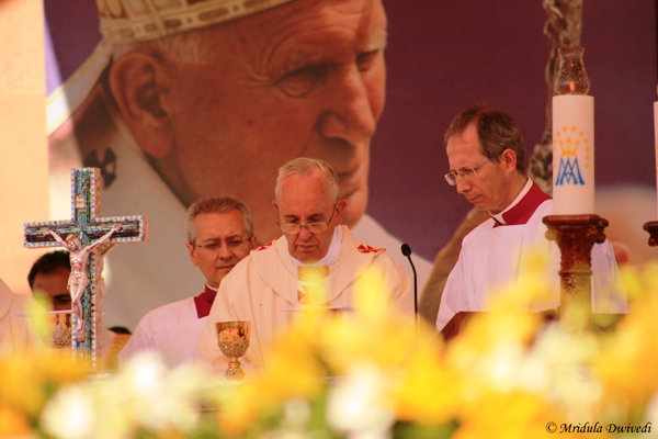 Pope Francis at Amman