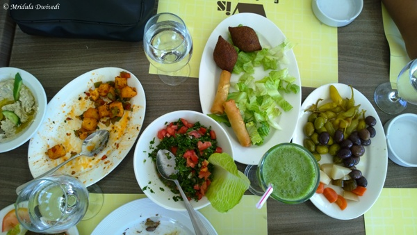 Salads as the First Course, Jordan