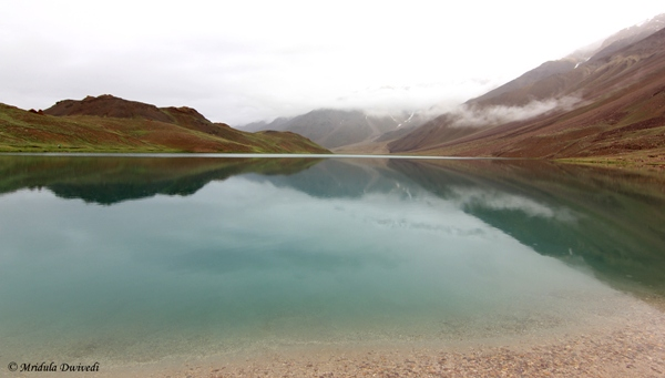 The Chandratal Lake, Spiti