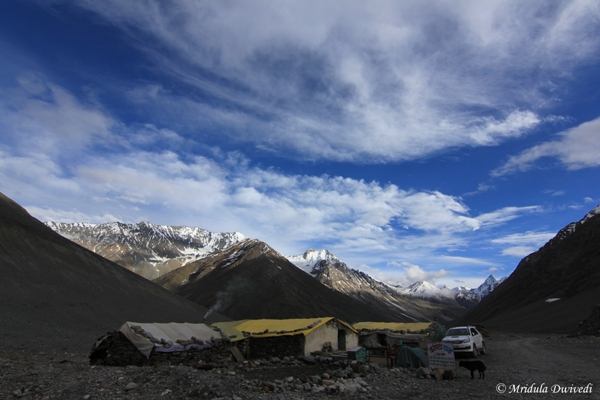 Dhabas at Batal, Spiti
