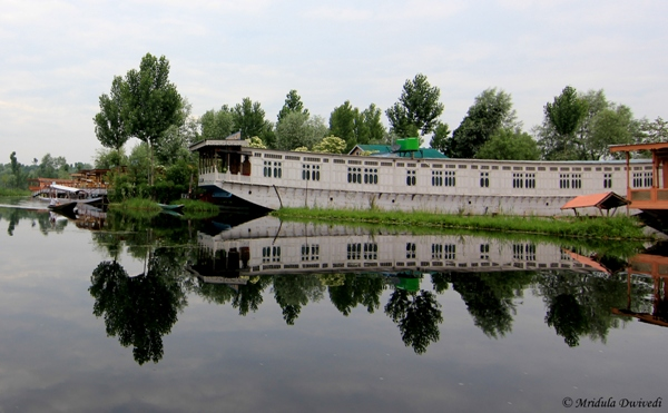 A House Boat at the Dal Lake, Srinagar