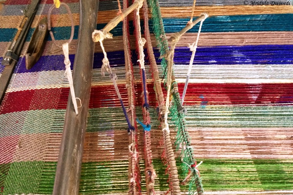 A Weaver's Loom at Pragpur