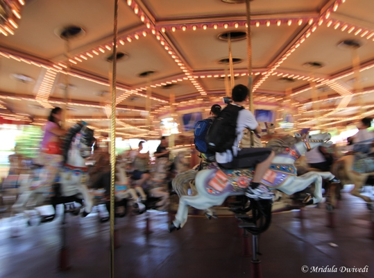 The Cinderella Carousel, Disneyland, Hong Kong