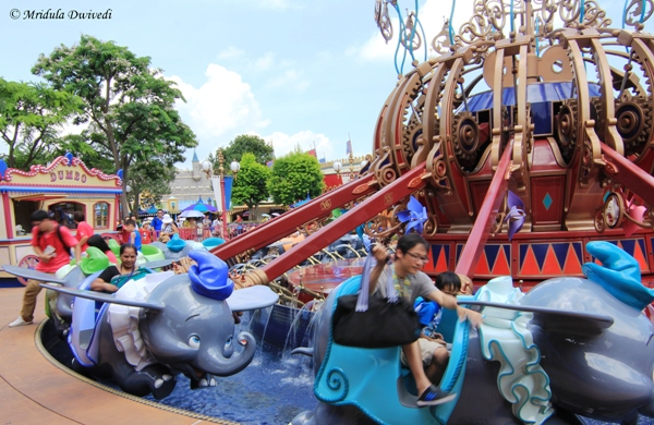 Dumbo the Flying Elephant, Disneyland, Hong Kong