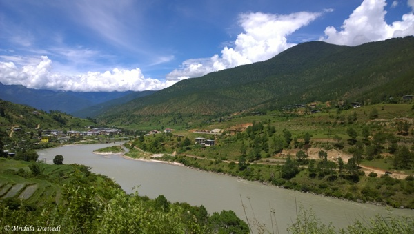 Beautiful Punakha, Bhutan