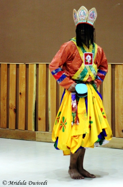 The Traditional Dance at Paro, Bhutan