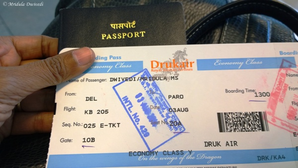 Druk Air is the only Carrier that Flies into Bhutan!