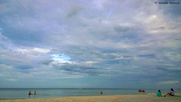 The Peaceful Hua Hin Beach, Thailand