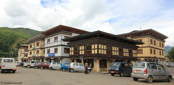 The Market at Paro, Bhutan