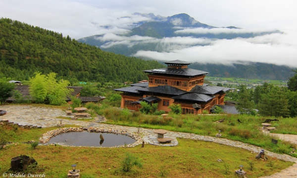 Misty Mountains, Paro, Bhutan